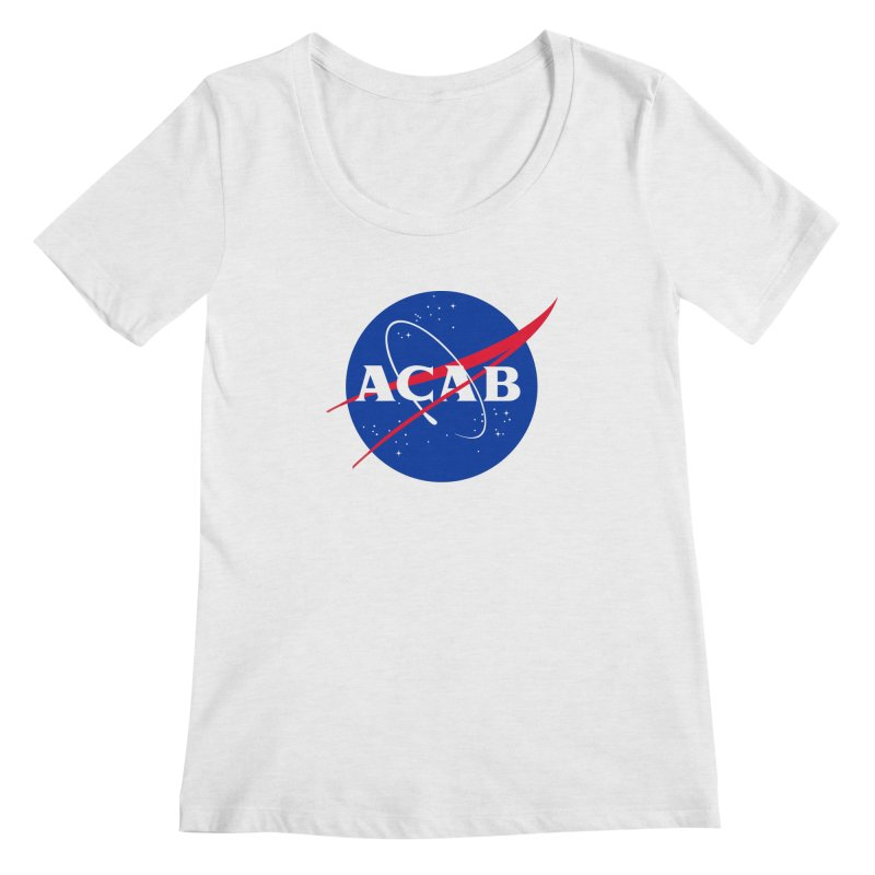 ACAB Meatball Women's Scoopneck by e l i z a