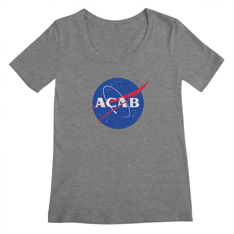 ACAB Meatball Women's Scoopneck by e l i z a