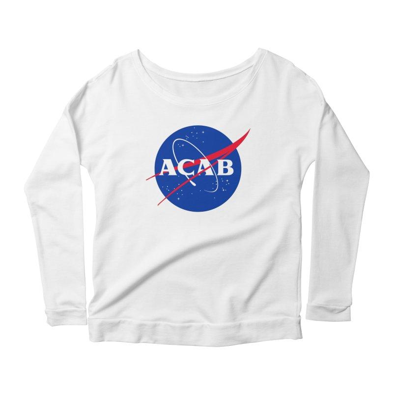 ACAB Meatball Women's Longsleeve Scoopneck  by e l i z a