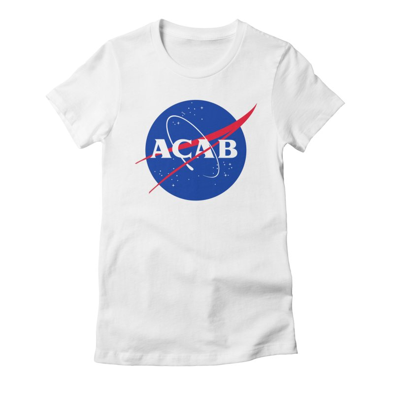 ACAB Meatball Women's Fitted T-Shirt by e l i z a