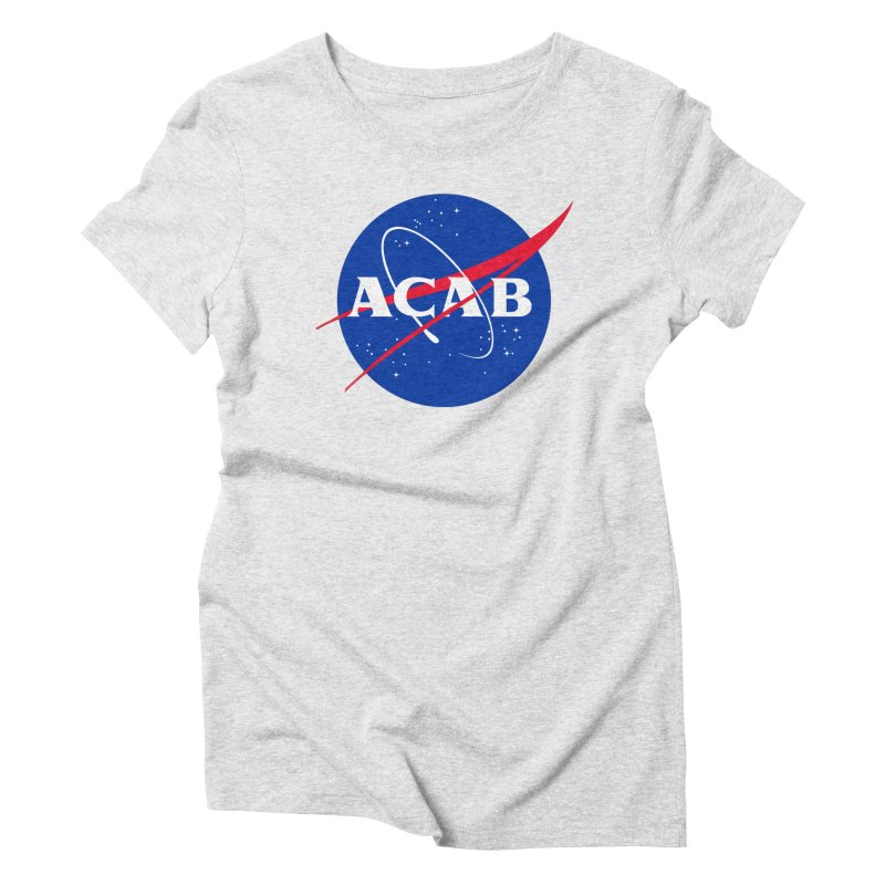 ACAB Meatball Women's Triblend T-Shirt by e l i z a