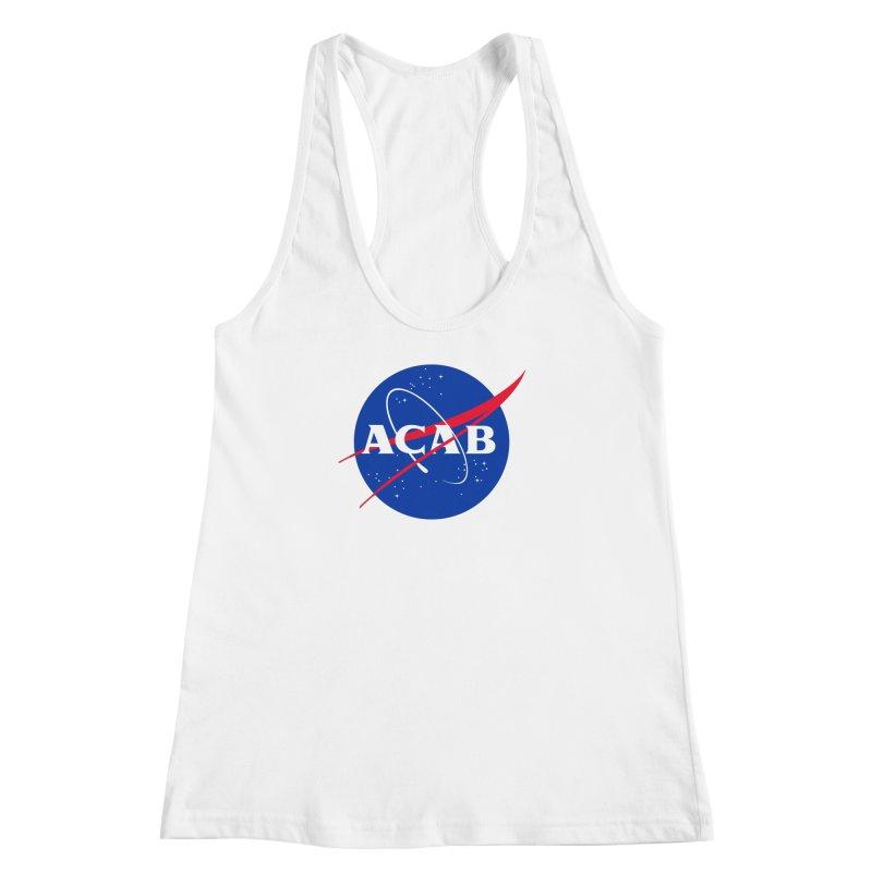 ACAB Meatball Women's Racerback Tank by e l i z a
