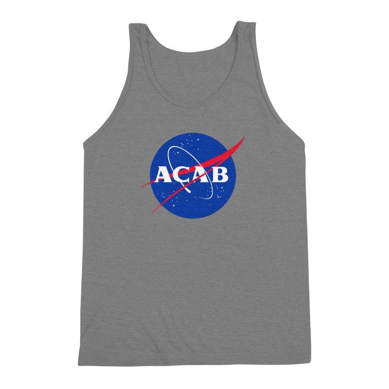ACAB Meatball Men's Triblend Tank by e l i z a