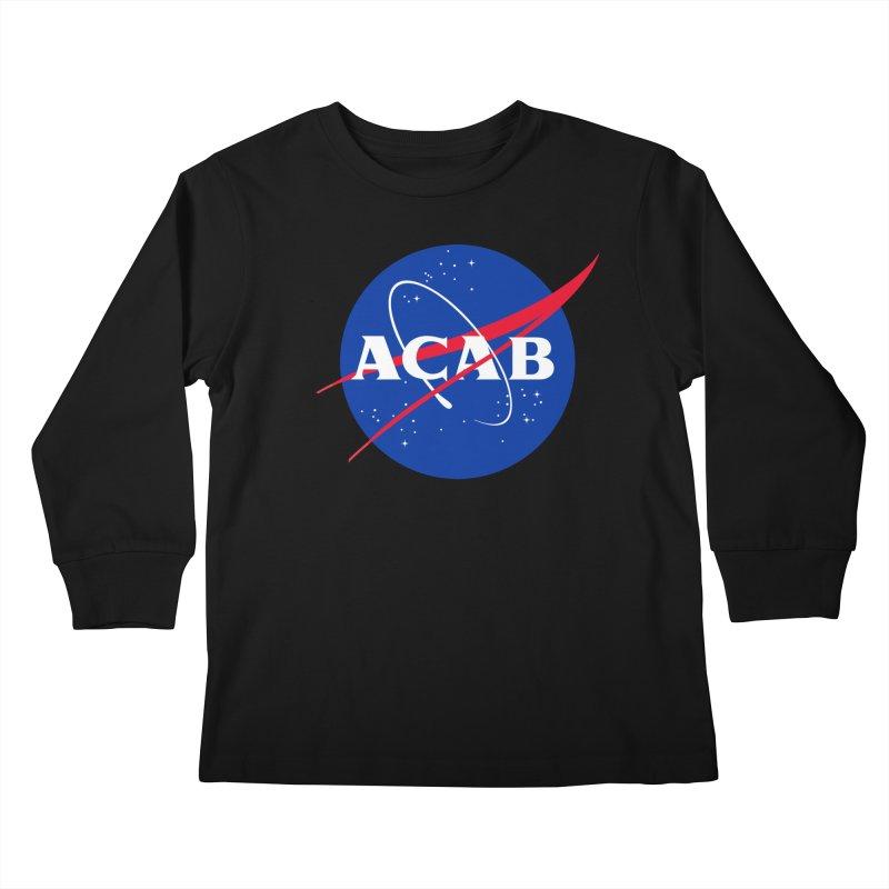 ACAB Meatball Kids Longsleeve T-Shirt by e l i z a