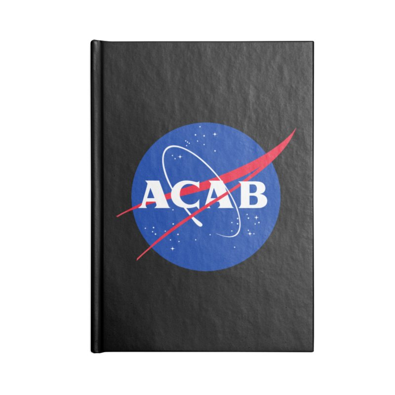 ACAB Meatball Accessories Lined Journal Notebook by e l i z a