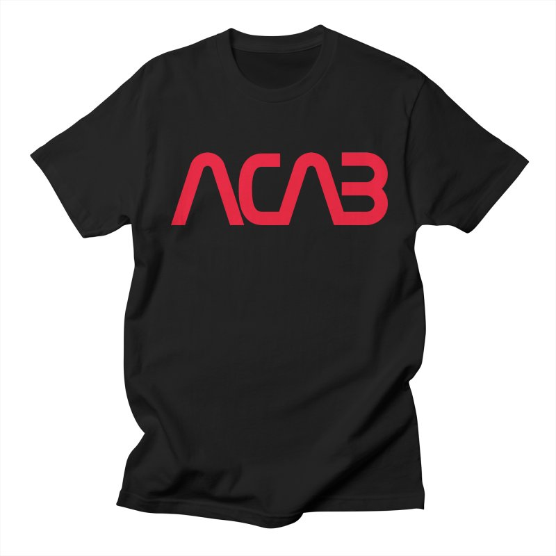 ACAB Worm in Men's Regular T-Shirt Black by e l i z a