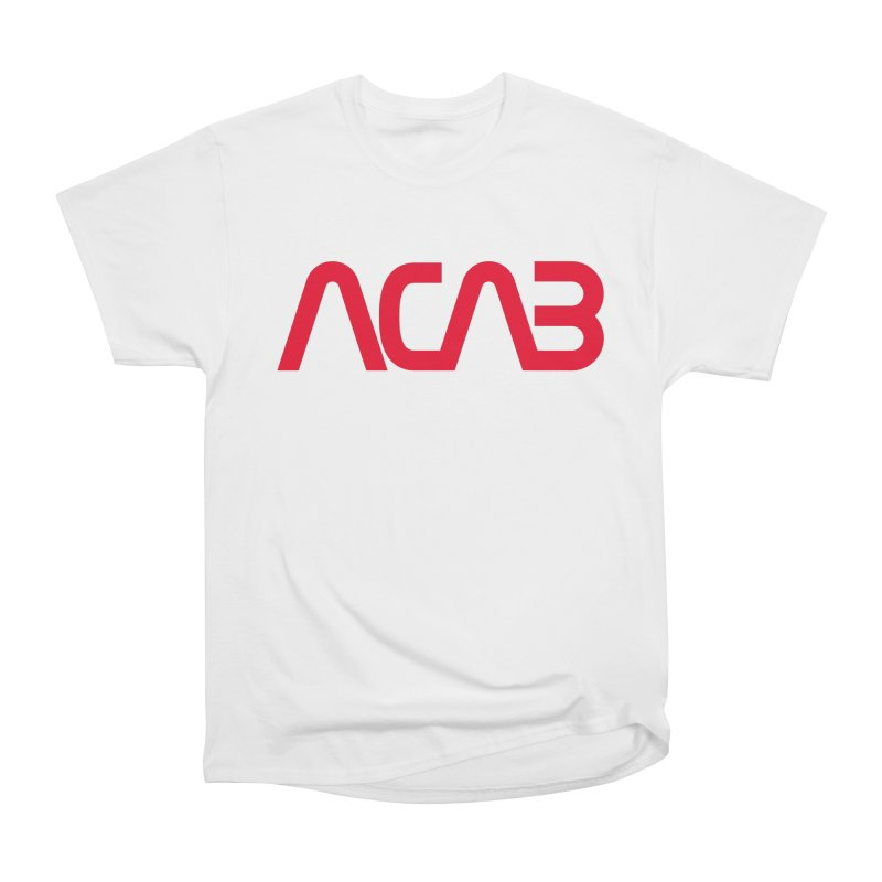 ACAB Worm Women's Heavyweight Unisex T-Shirt by e l i z a