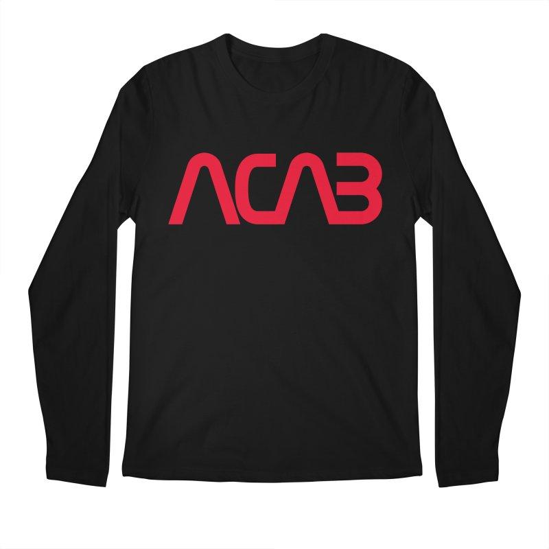 ACAB Worm Men's Longsleeve T-Shirt by e l i z a