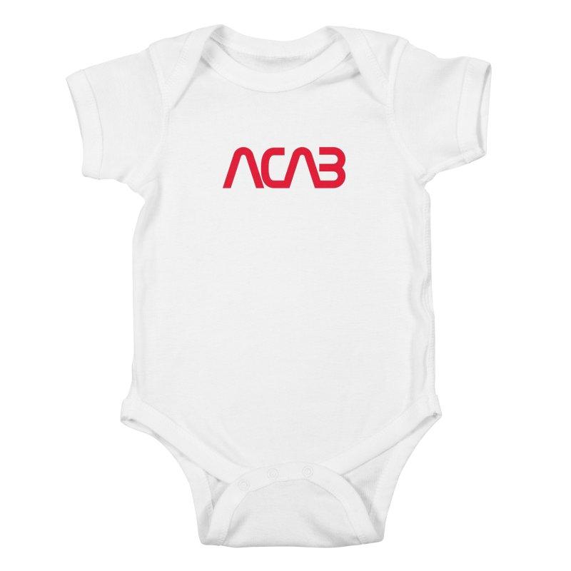 ACAB Worm Kids Baby Bodysuit by e l i z a