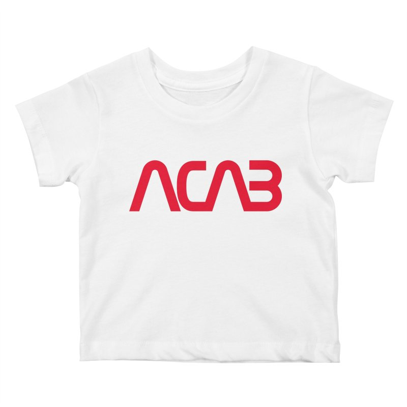 ACAB Worm Kids Baby T-Shirt by e l i z a