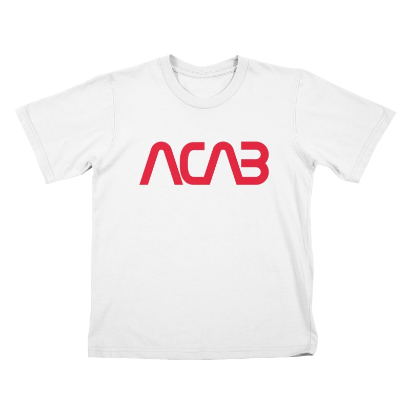 ACAB Worm Kids T-Shirt by e l i z a