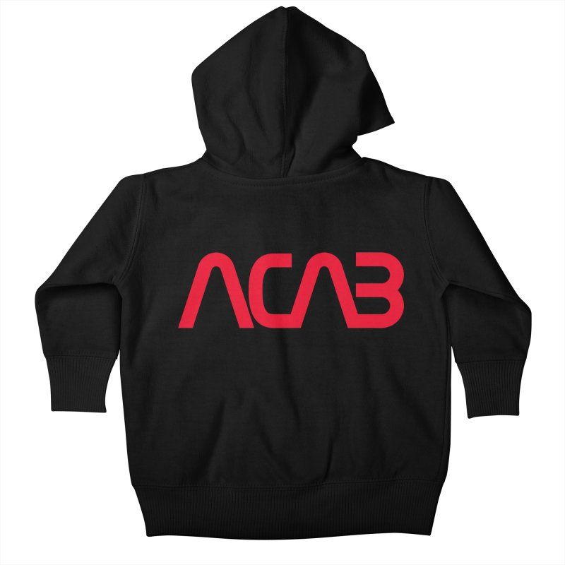 ACAB Worm Kids Baby Zip-Up Hoody by e l i z a