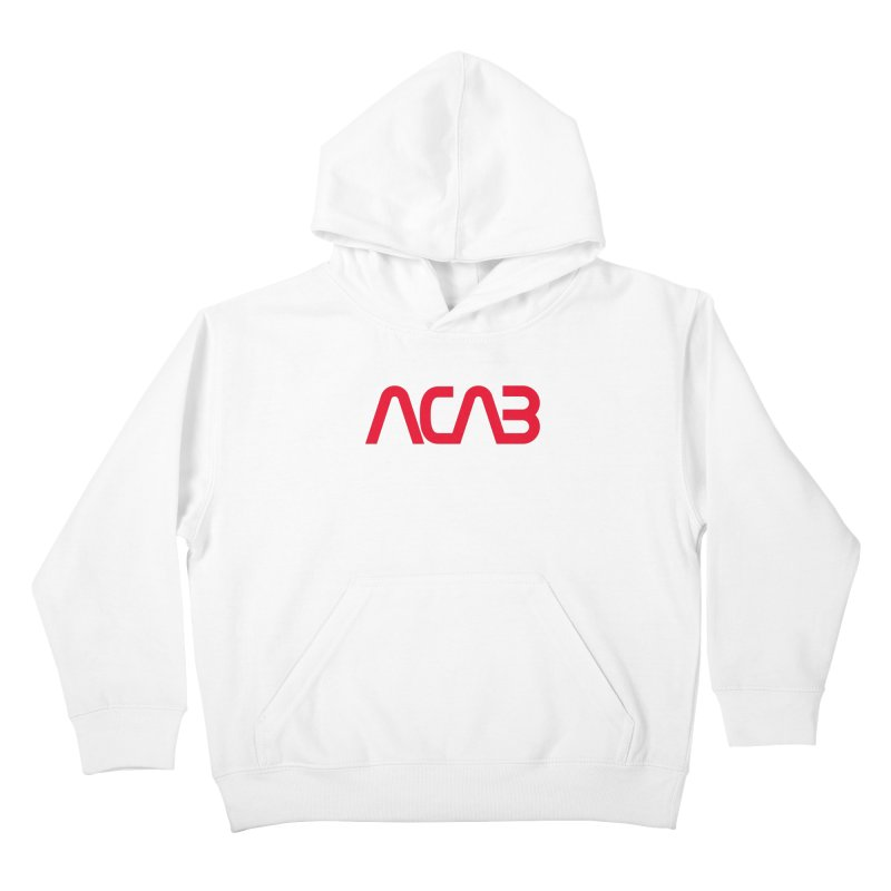 ACAB Worm Kids Pullover Hoody by e l i z a