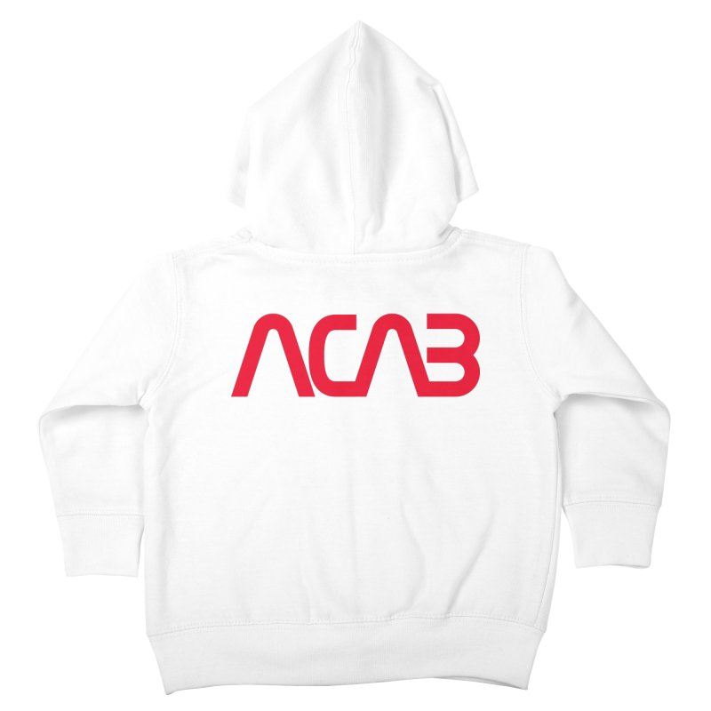 ACAB Worm Kids Toddler Zip-Up Hoody by e l i z a