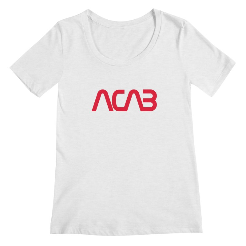 ACAB Worm Women's Regular Scoop Neck by e l i z a