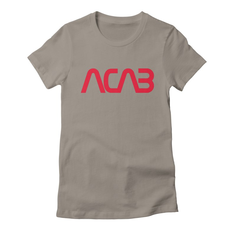 ACAB Worm Women's Fitted T-Shirt by e l i z a