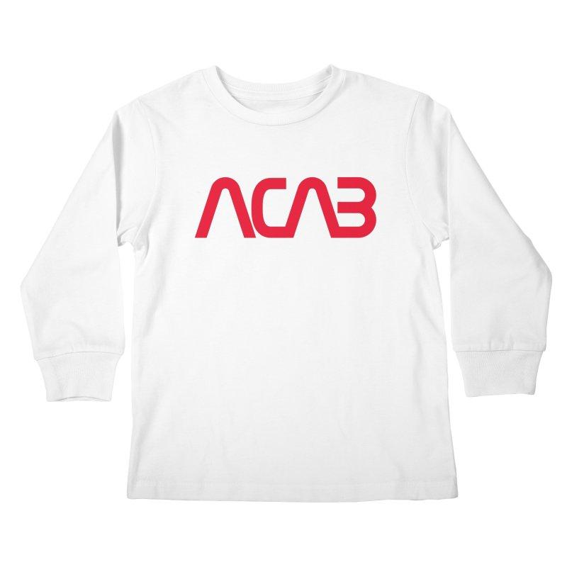 ACAB Worm Kids Longsleeve T-Shirt by e l i z a