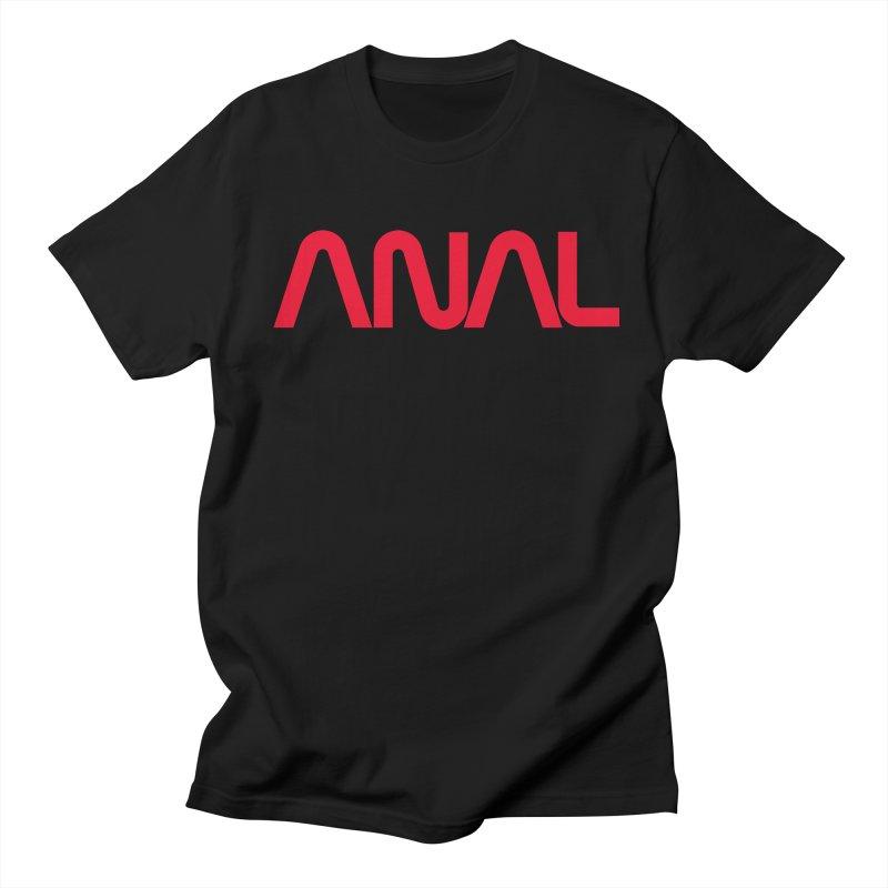 ANAL Worm Men's T-Shirt by e l i z a