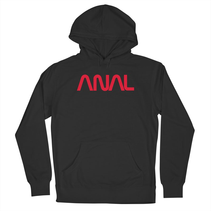 ANAL Worm Men's Pullover Hoody by e l i z a