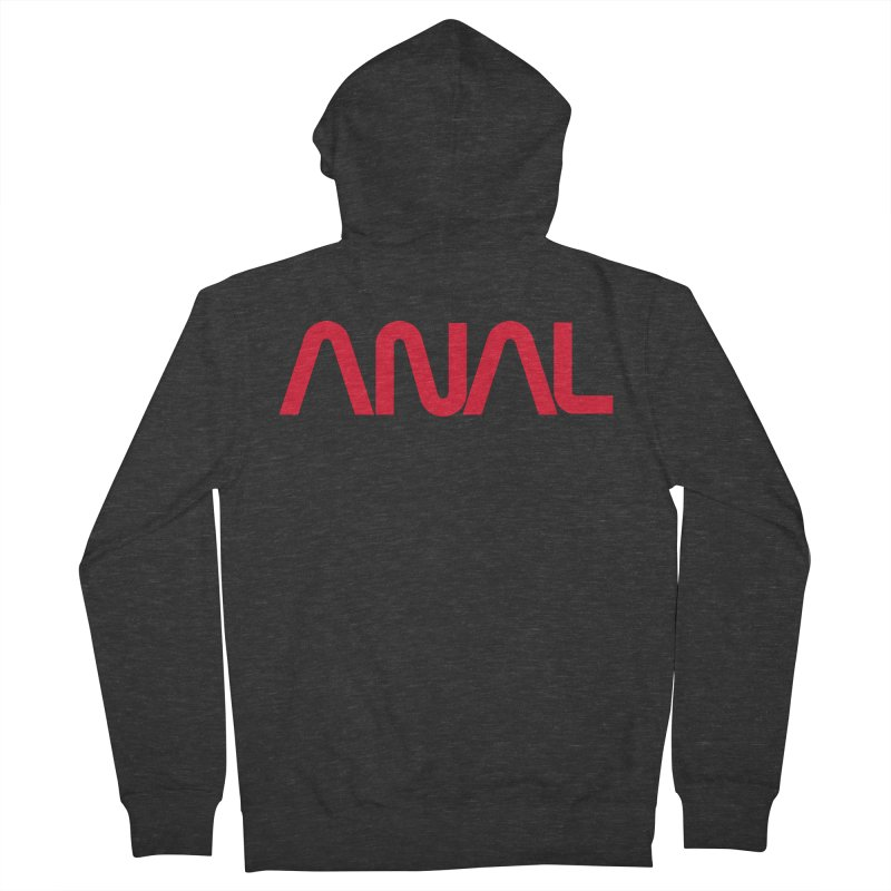 ANAL Worm Women's Zip-Up Hoody by e l i z a
