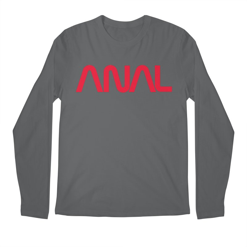 ANAL Worm Men's Longsleeve T-Shirt by e l i z a