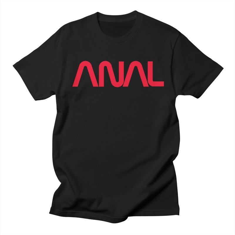 ANAL Worm Men's T-Shirt by e l i z a