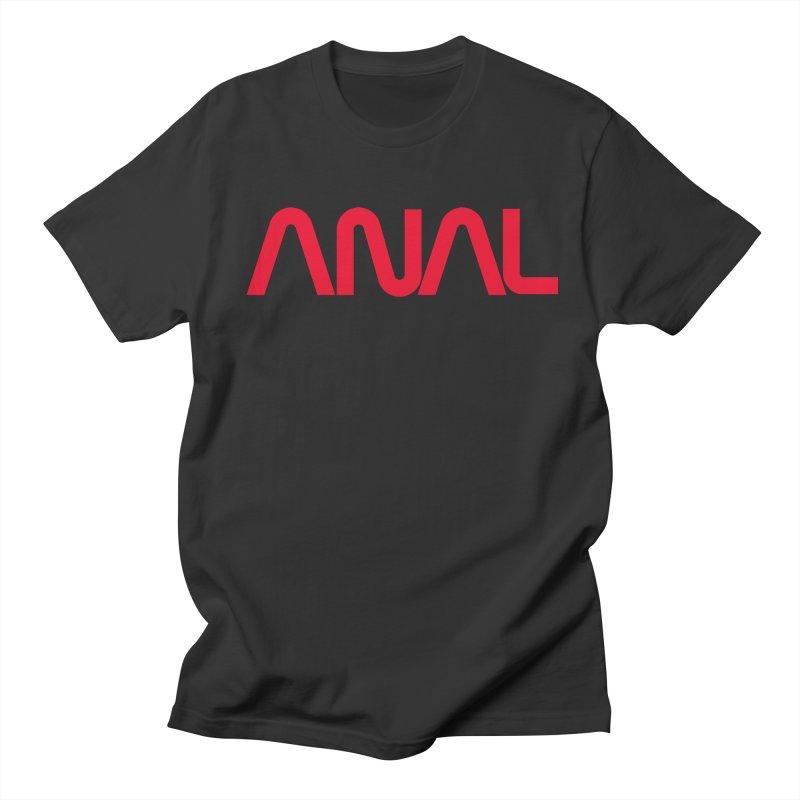 ANAL Worm Women's Unisex T-Shirt by e l i z a