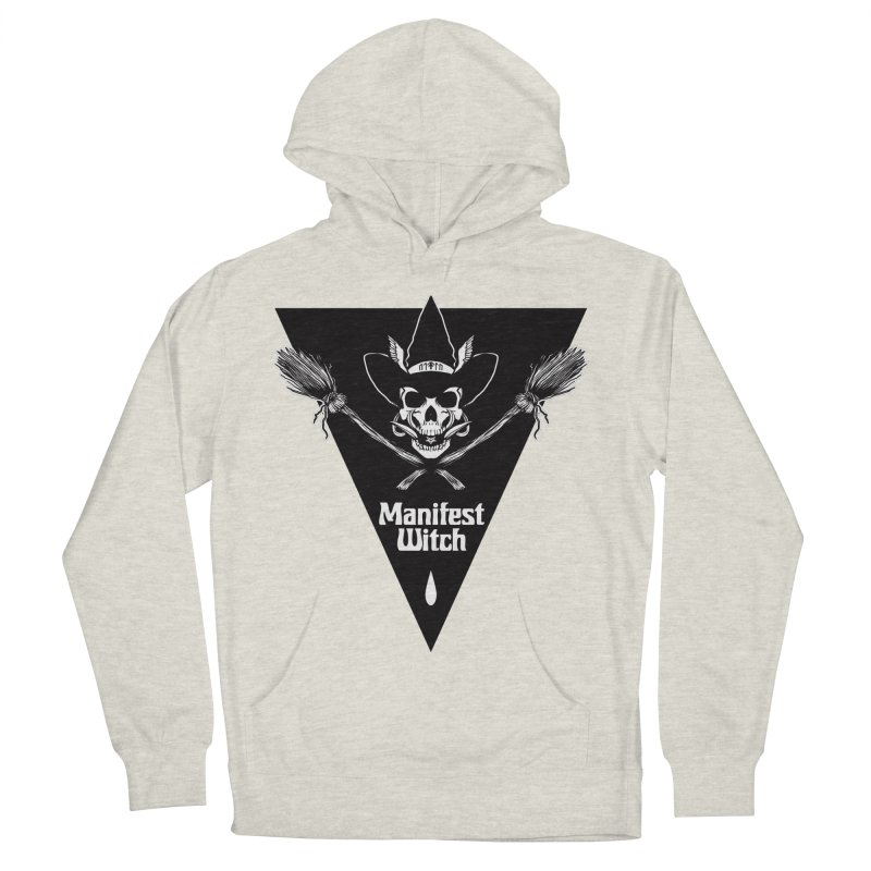 [MANIFEST WITCH] White Shirt Men's Pullover Hoody by e l i z a