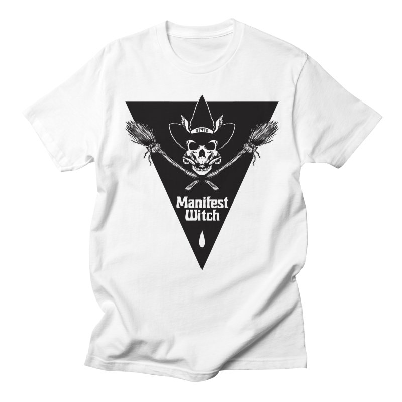 [MANIFEST WITCH] White Shirt Men's T-Shirt by e l i z a