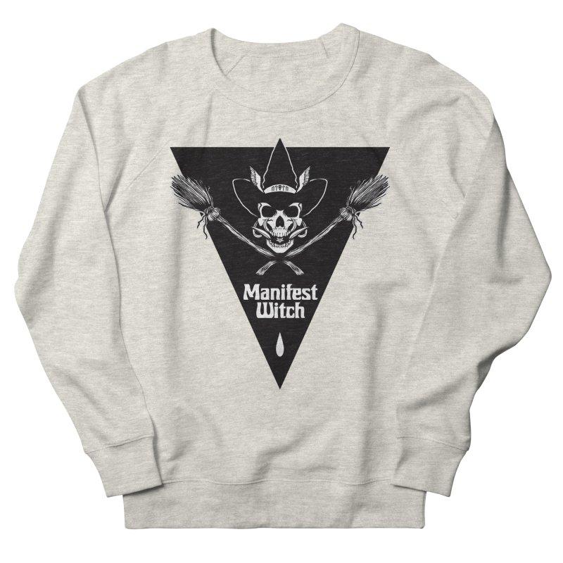 [MANIFEST WITCH] White Shirt Women's Sweatshirt by e l i z a