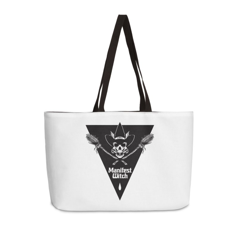 [MANIFEST WITCH] White Shirt Accessories Weekender Bag Bag by e l i z a