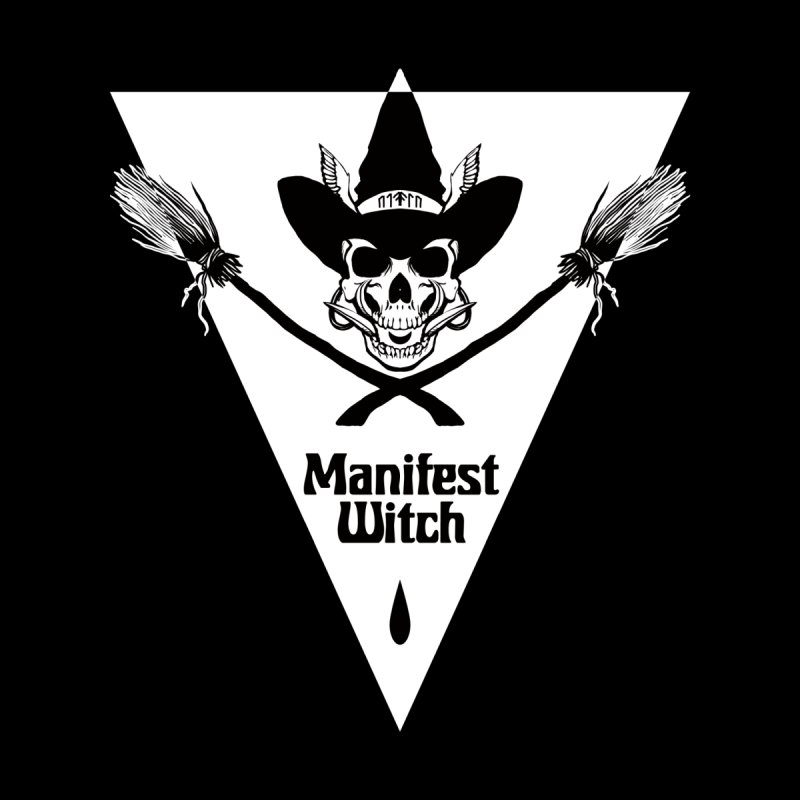[MANIFEST WITCH] Black Shirt Kids Longsleeve T-Shirt by e l i z a