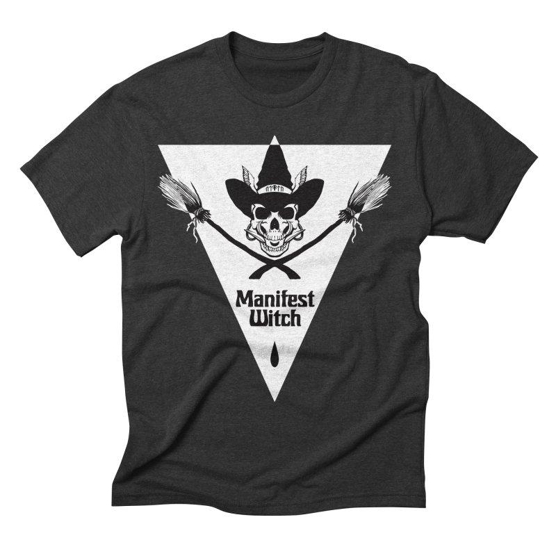 [MANIFEST WITCH] Black Shirt Men's T-Shirt by e l i z a