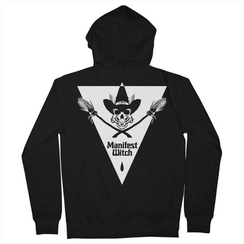 [MANIFEST WITCH] Black Shirt Men's Zip-Up Hoody by e l i z a