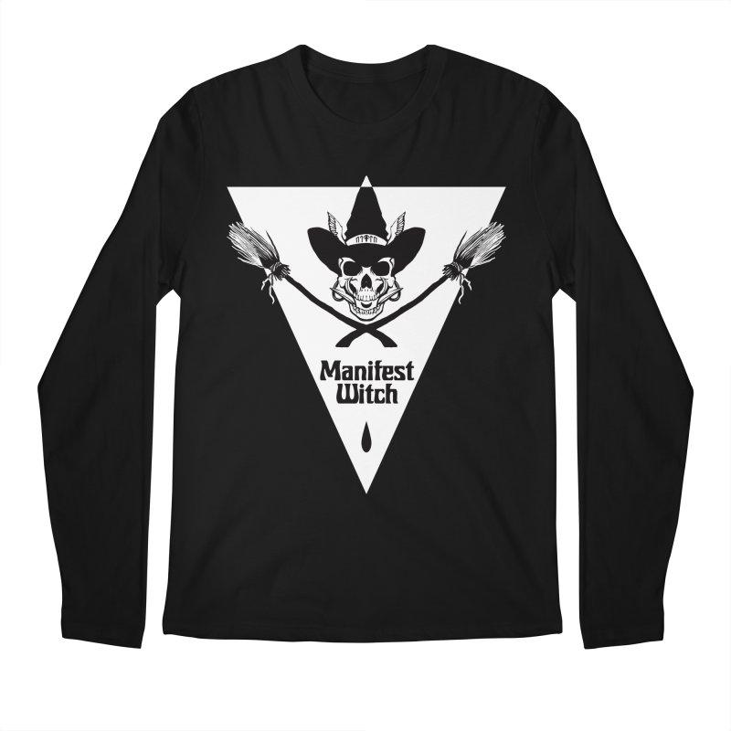 [MANIFEST WITCH] Black Shirt Men's Longsleeve T-Shirt by e l i z a