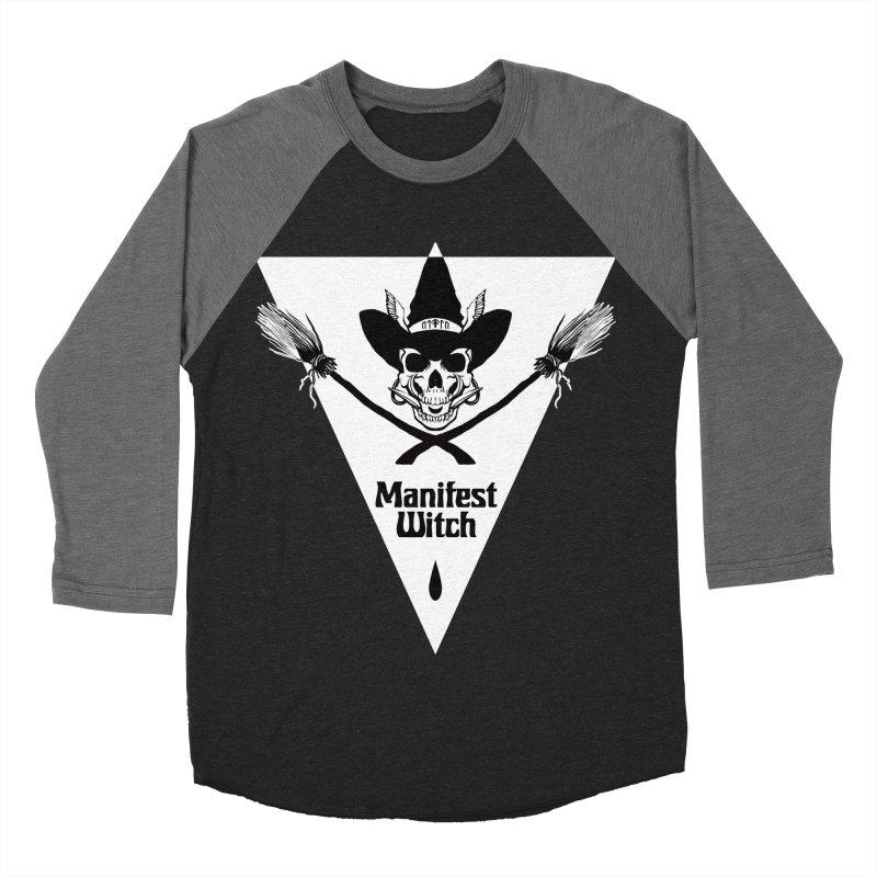 [MANIFEST WITCH] Black Shirt Men's Baseball Triblend T-Shirt by e l i z a