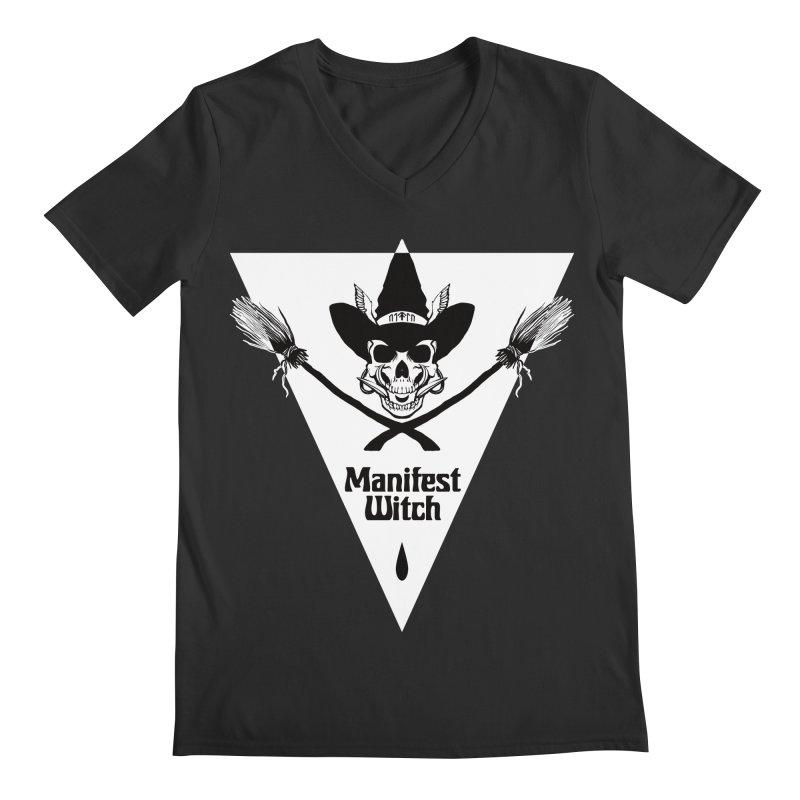 [MANIFEST WITCH] Black Shirt Men's V-Neck by e l i z a