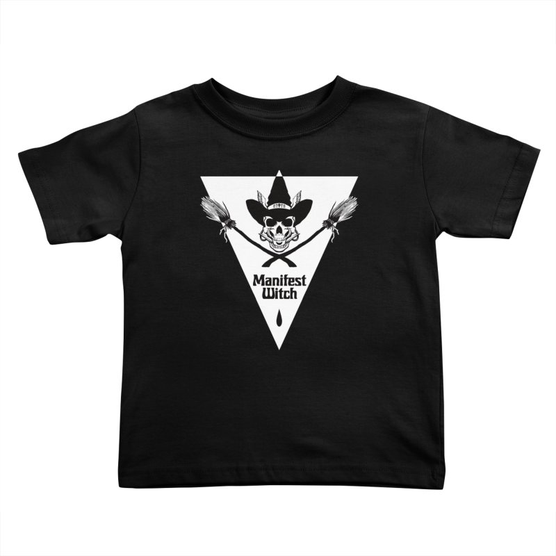 [MANIFEST WITCH] Black Shirt Kids Toddler T-Shirt by e l i z a