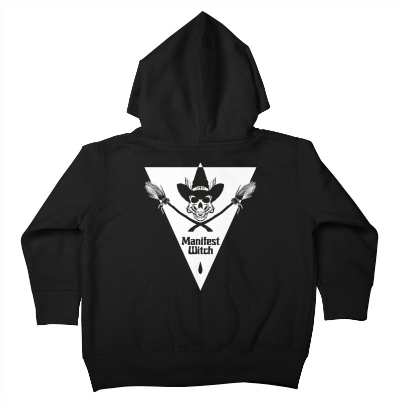 [MANIFEST WITCH] Black Shirt Kids Toddler Zip-Up Hoody by e l i z a