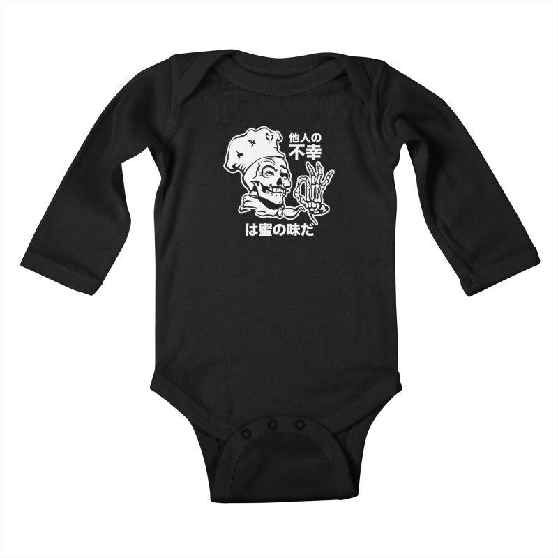 Happiness Chef Kids Baby Longsleeve Bodysuit by e l i z a