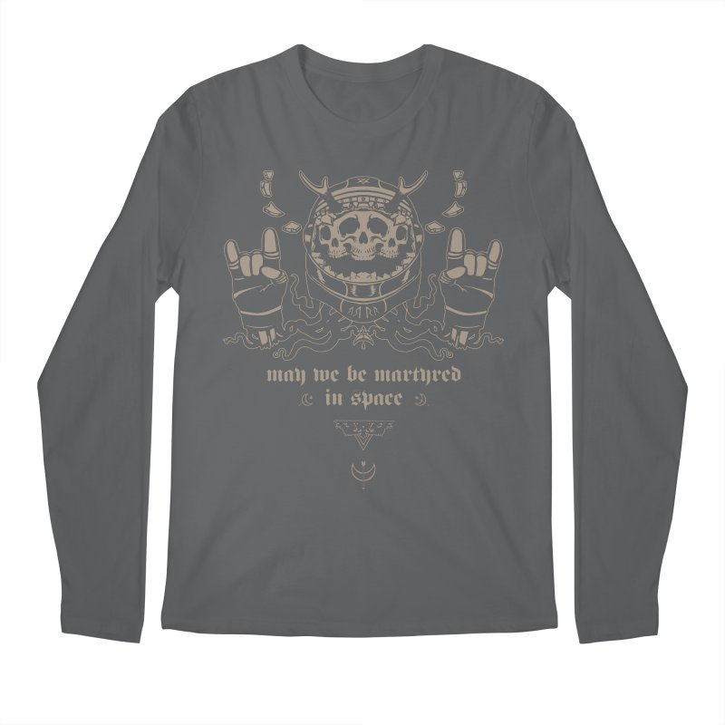 [MAY WE BE MARTYRED IN SPACE] Men's Longsleeve T-Shirt by e l i z a
