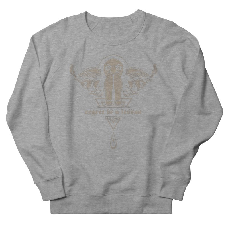 [REGRET IS A LESSON] Women's Sweatshirt by e l i z a
