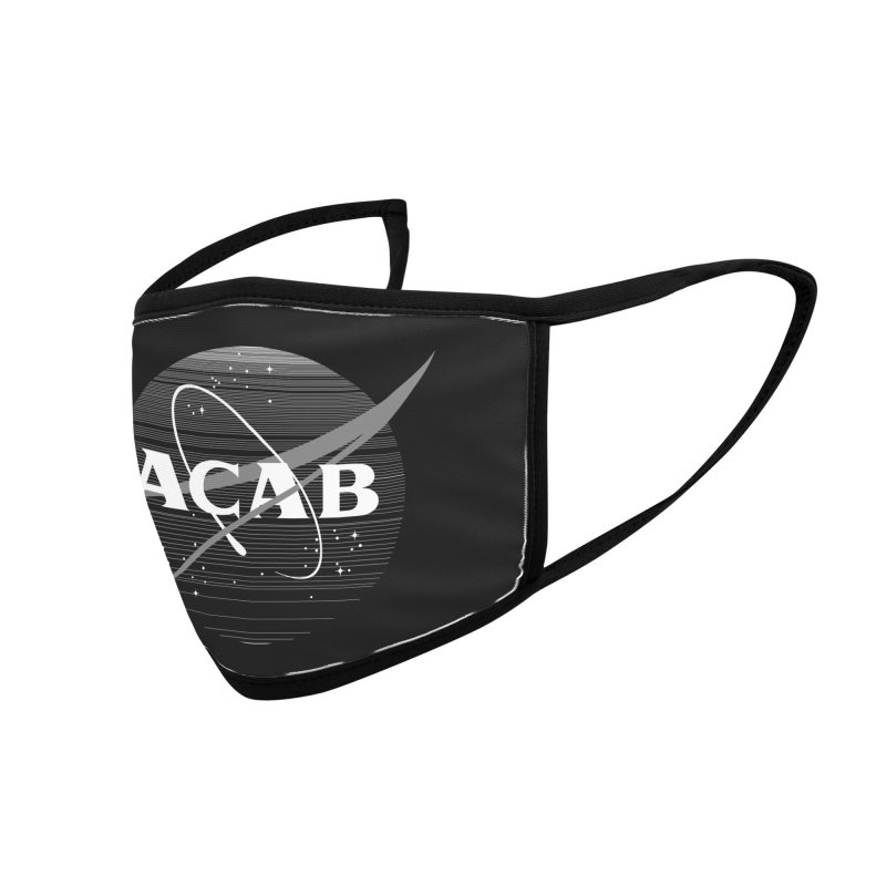 ACAB Meatball for Goths Accessories Face Mask by e l i z a