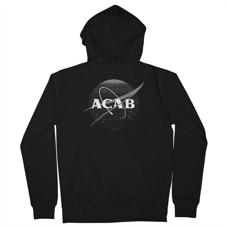 ACAB Meatball for Goths Women's French Terry Zip-Up Hoody by e l i z a