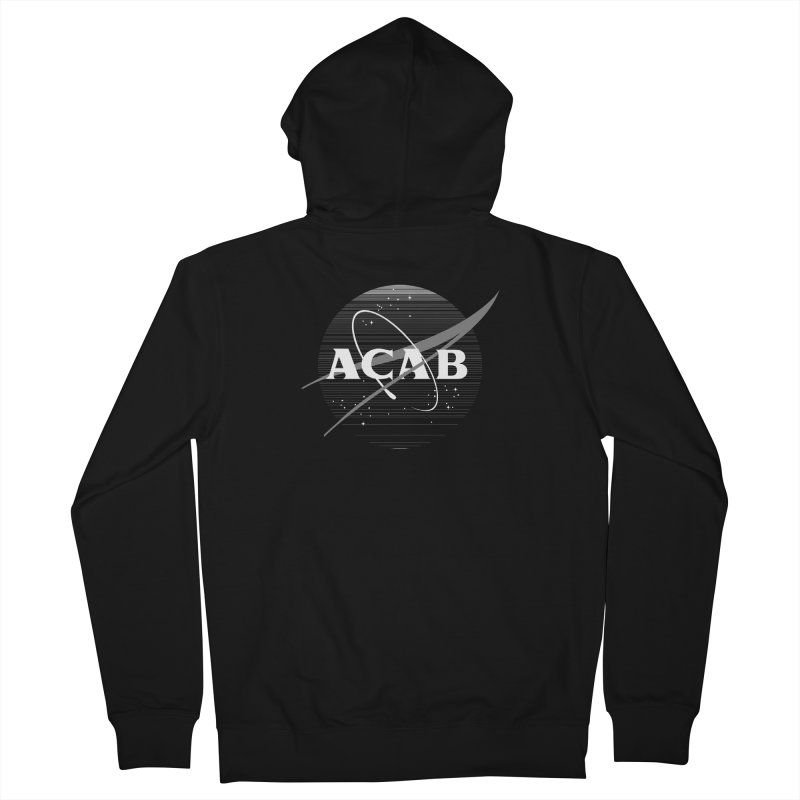 ACAB Meatball for Goths Men's Zip-Up Hoody by e l i z a