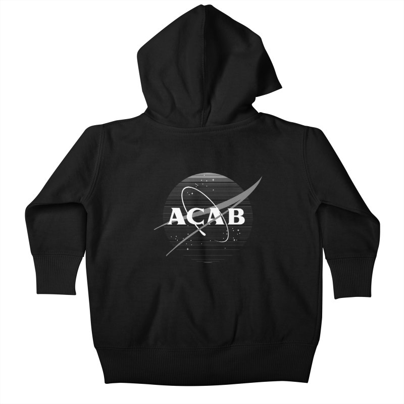 ACAB Meatball for Goths Kids Baby Zip-Up Hoody by e l i z a