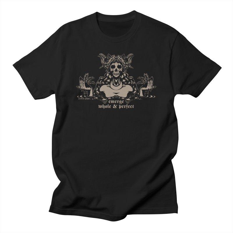 [EMERGE WHOLE & PERFECT] Men's T-Shirt by e l i z a