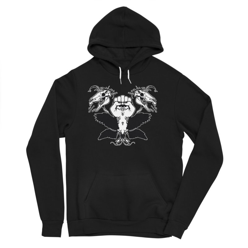 [LEFT HAND FIST] Women's Pullover Hoody by e l i z a