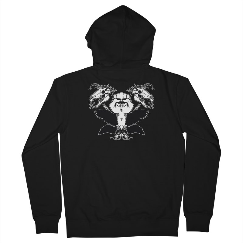 [LEFT HAND FIST] Women's French Terry Zip-Up Hoody by e l i z a
