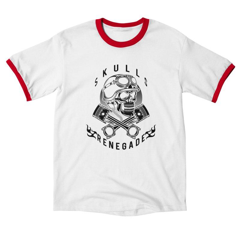 Skulls Renegade MC Women's T-Shirt by elizabethknox's Artist Shop